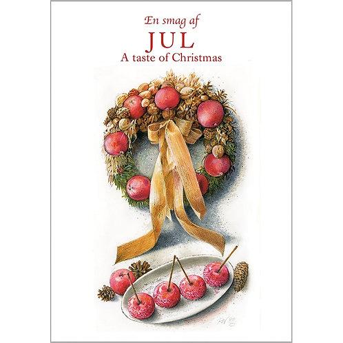 A Taste of Christmas Card Folder w/8 Note Cards