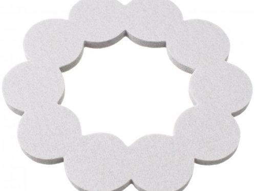 Small Silver Helmi Trivet