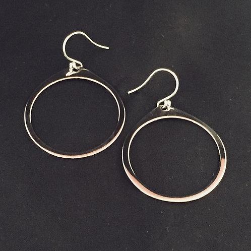 Polished Ring Earrings