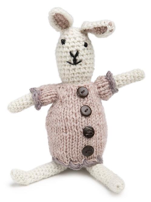 Bunny Girl Mini Knit Stuffed Animal