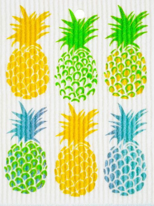 Pineapples Wash Towel (MIN 6)