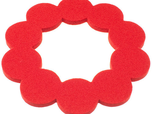 Small Red Helmi Trivet