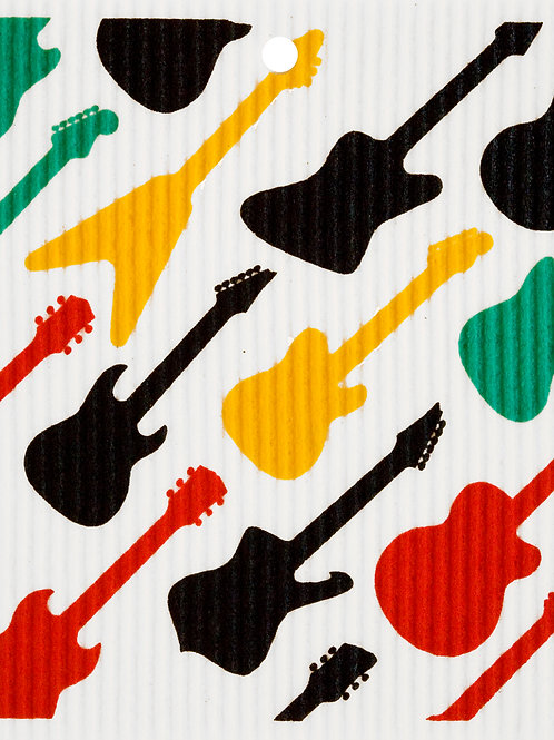 Guitars Wash Towel (MIN 6)