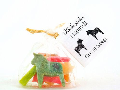 Dala Horse Guest Soap Collection, 5 pcs/bag