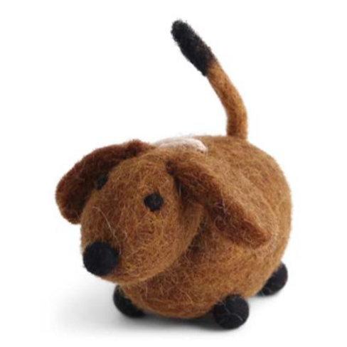 Brown Dog Ornament (MIN 8)