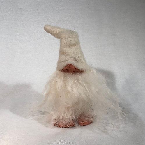 Small White Foot Gnome