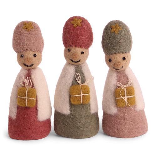 Nativity Play Three Kings, Set of 3 (MIN 4)