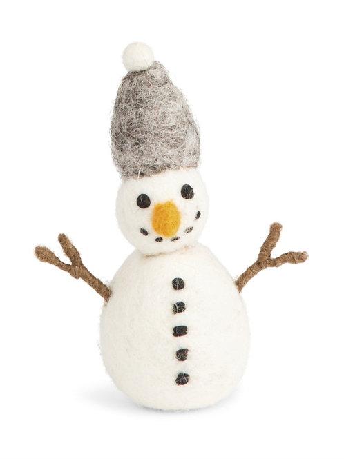 Snowman w/Grey Hat
