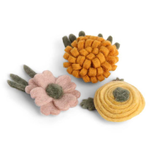 Set of 3 Big Flower Decoration (MIN 8)