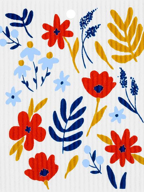 Wild Flowers Wash Towel (MIN 6)