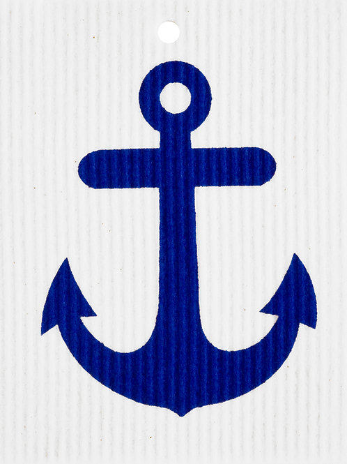 Anchor by Harry W. Smith Wash Towel (MIN 6)