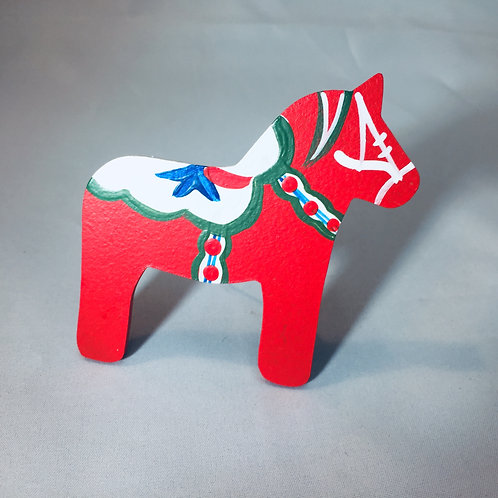 Red Dala Horse Magnet
