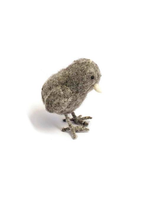 Grey Chicken Ornament (MIN 4)