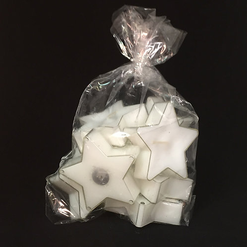 White Star Clear Cup Tealights