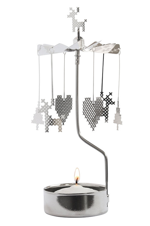 Cross Stich Rotary Candleholder