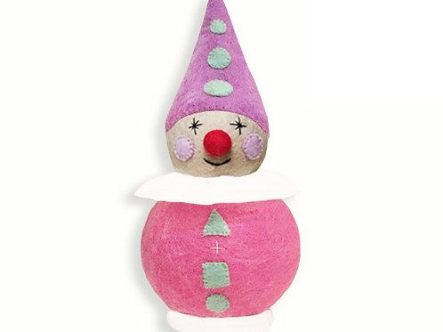 Small Pink Clown