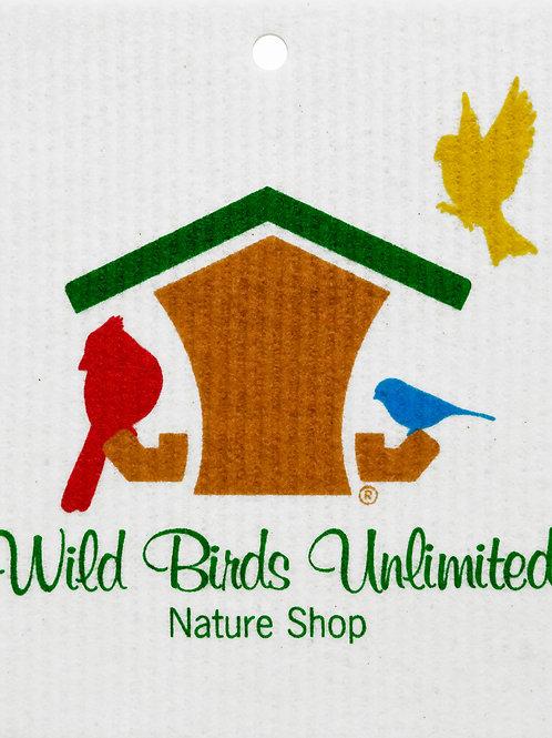 Wild Birds Unlimited Logo Wash Towel (MIN 6)