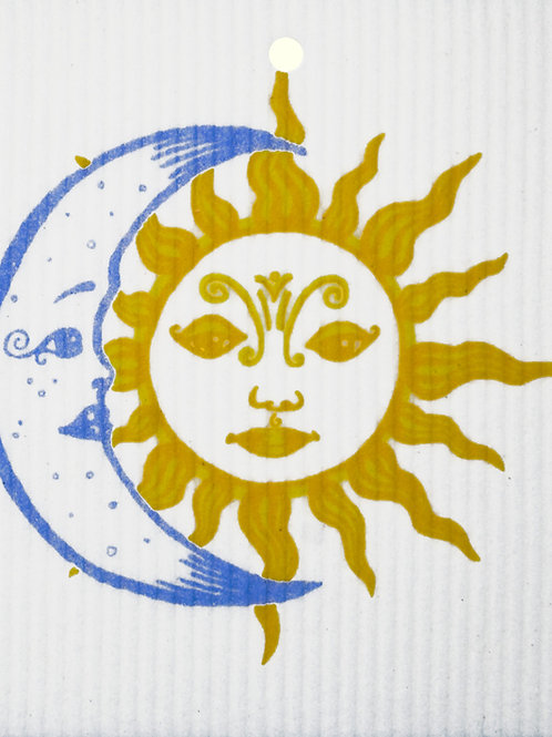 Sun & Moon Wash Towel (MIN 6)