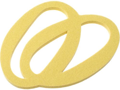 Small Yellow Silmu Trivet