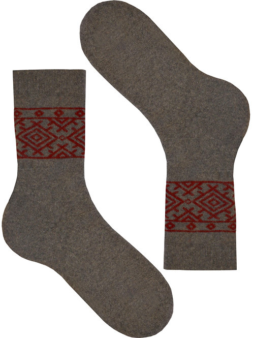 Grey Nordic Women's Socks