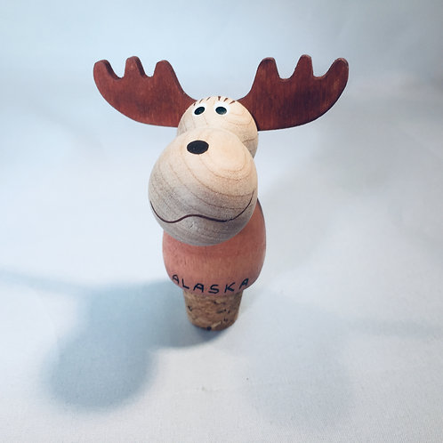 Alaska Moose Bottle Cork