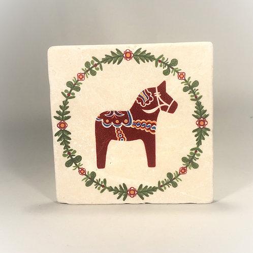 Dala Horse Coaster