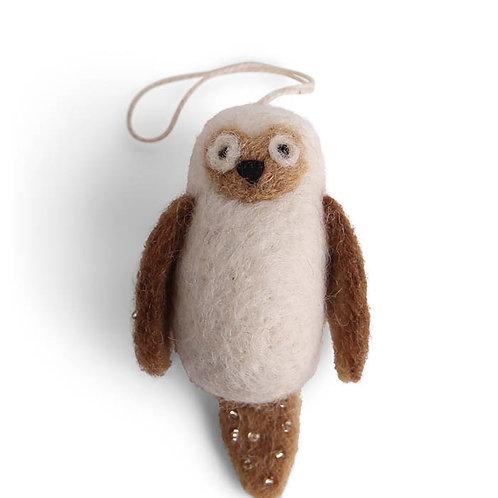 White Owl Ornament (MIN 8)
