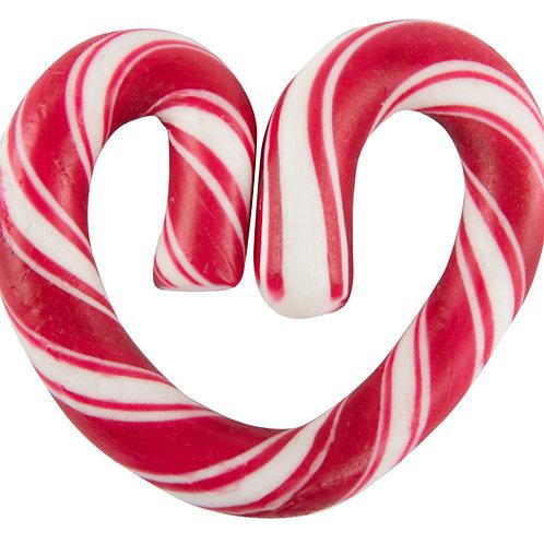 Polkagris (Peppermint) Candy Heart