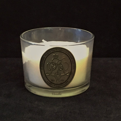 Ivory Vanilla Scented Jar Candle