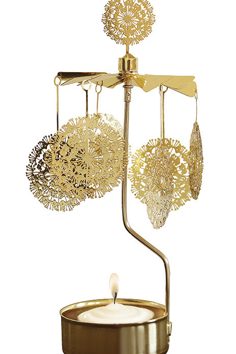 Gold Dandelion Rotary