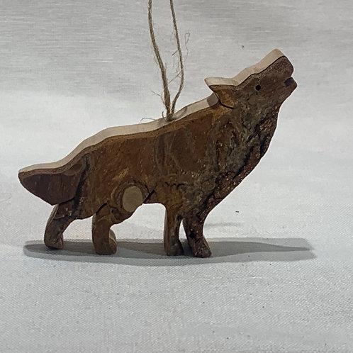 Howling Wolf Ornament