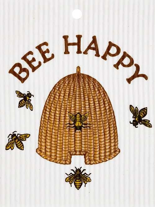 Bee Happy by Harry W. Smith Wash Towel (MIN 6)