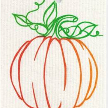 Pumpkin Wash Towel (MIN 6)
