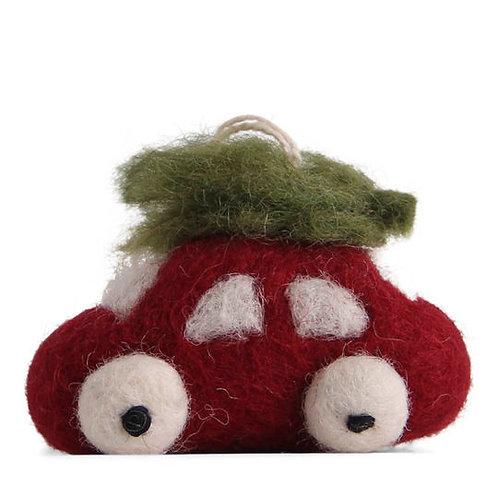 Small Red Car w/Tree (MIN 8)