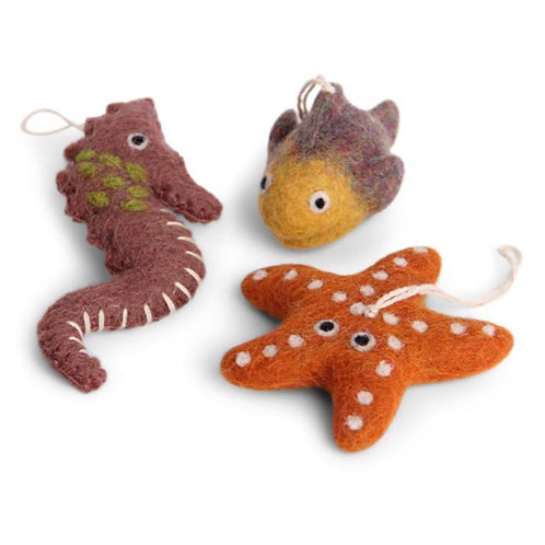 Red Sea Set Ornaments (MIN 8)