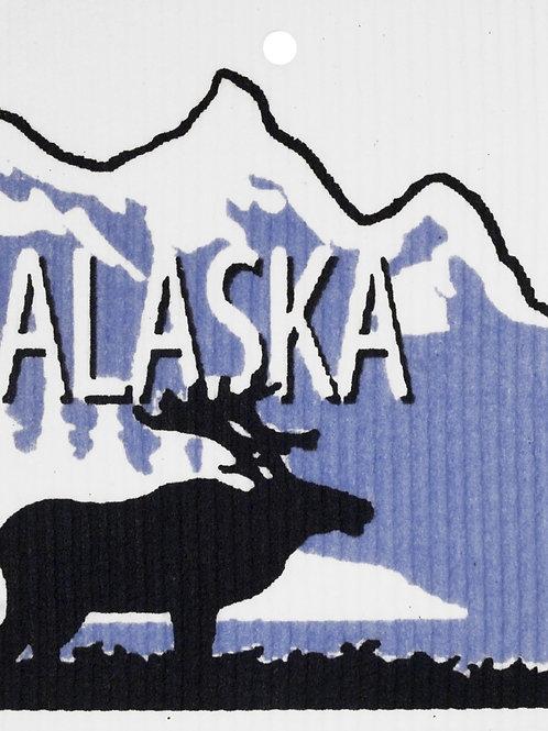Alaska Moose Wash Towel (MIN 6)