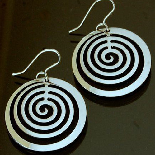 Black Avery Earrings