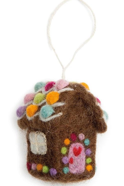 Mini Gingerbread House Ornament (MIN 8)