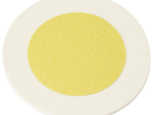 White + Yellow Double Rinki Trivet