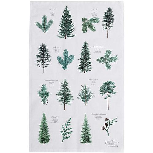 Pine Trees Tea Towel