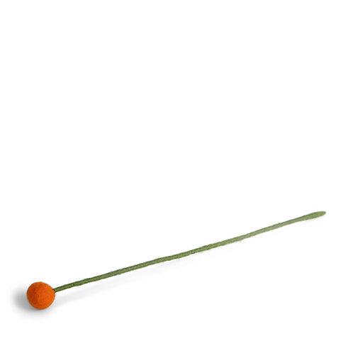 Small Orange Flower, pkg of 6 (MIN 1)