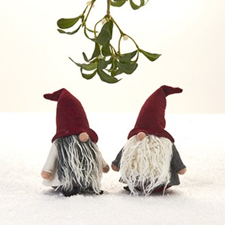 Pixie Gnome w/Wire Hat, 2 Assorted