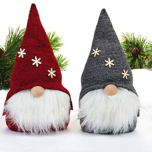 Red & Grey Pixie Gnome, 2 Assorted