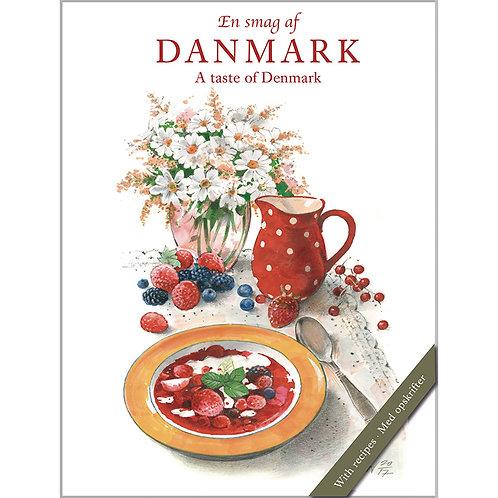 A Taste of Denmark Card Folder w/8 Note Cards