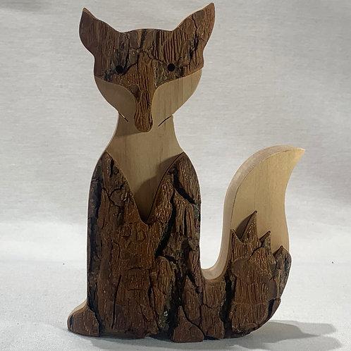 Medium Sitting Fox