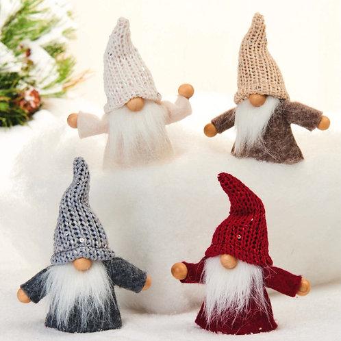 Red, Grey & Cream Gnome, 2/box