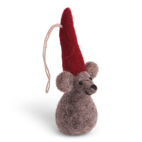 Christmas Mouse Ornament (MIN 8)