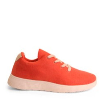 Coral Red Sneakers