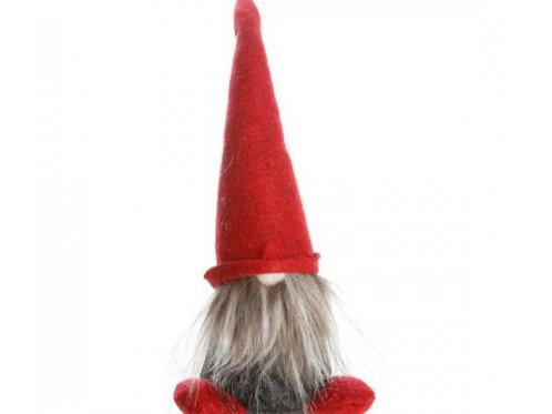 Standing Gnome w/Red Hat & Feet