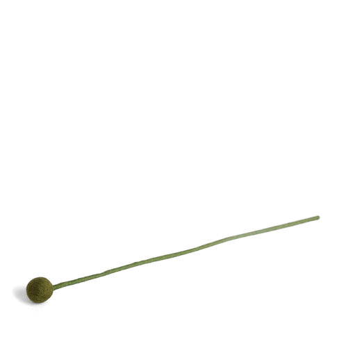 Small Green Flower, pkg of 6 (MIN 1)